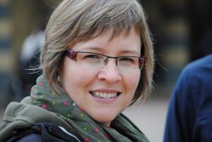 Britta von Baer freut sich darauf, mit den Kindern im SlowMobil zu kochen!